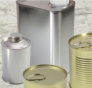 Sheet metal and metal packaging